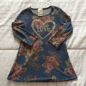 Long Sleeve Love Dress